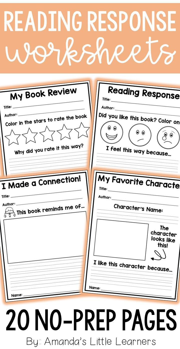 This Set Of Reading Response Sheets Will Serve As A Great Activity After Reading A Book Or Reading Response Worksheets Reading Response Reading Response Sheets [ 1392 x 720 Pixel ]