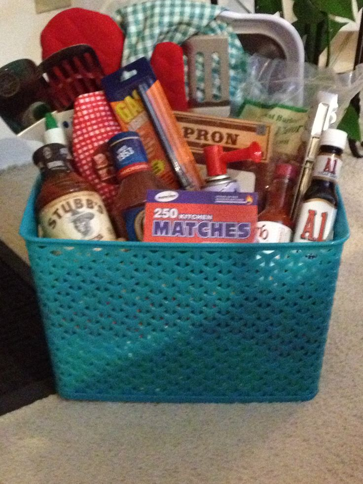 Father's Day BBQ gift basket | Fun Gifts | Pinterest ...