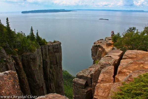 Thunder Bay Canada - Sleeping Giant Provincial Park- Chimney