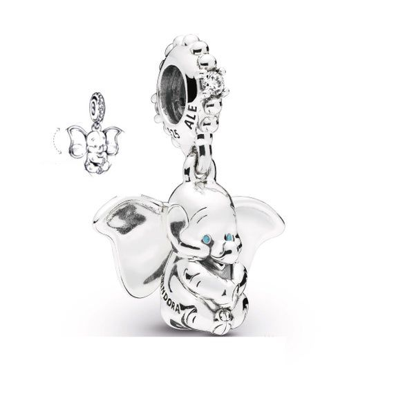 Pandora Disney Dumbo Dangle Charm | Pandora charms disney, Pandora ...
