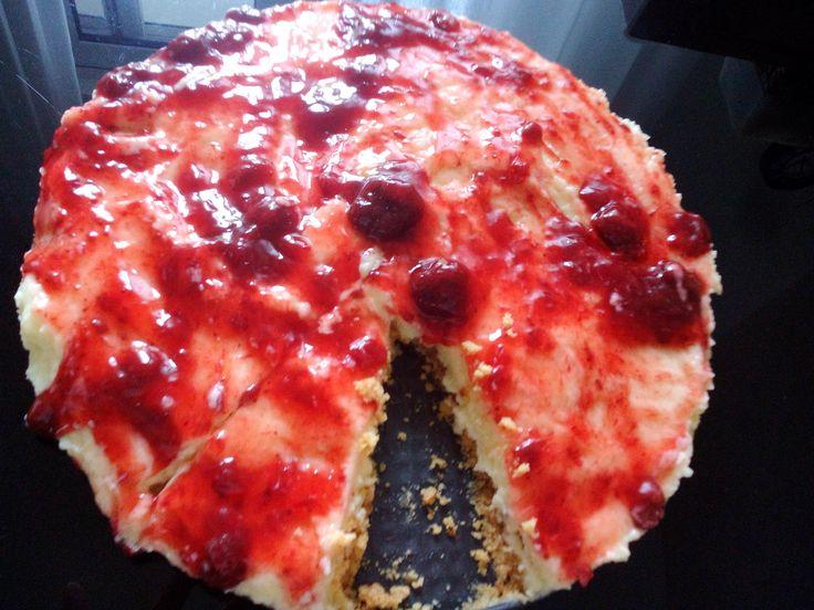 Cheesecake φράουλας (2 μονάδες) – Diaitamonadwn.gr