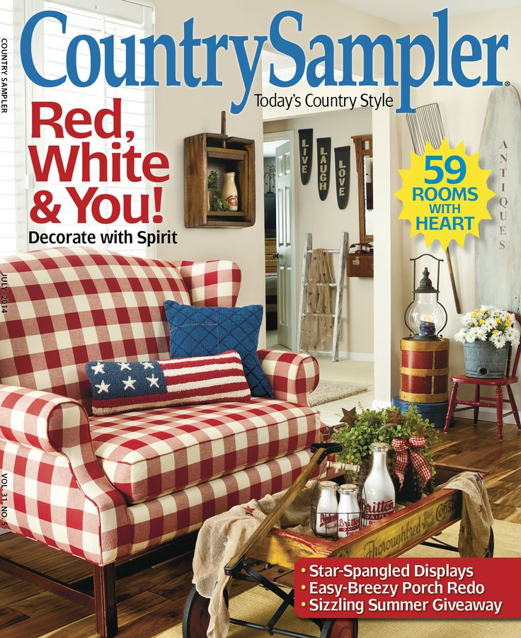 Country Home Decor Magazines: 390 Best Country Sampler Magazine Images On Pinterest