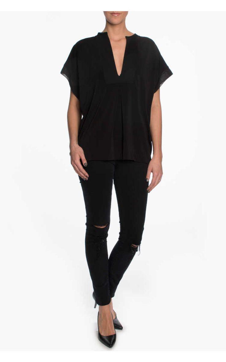 Topp Verzalio BLACK - By Malene Birger - Designers - Raglady