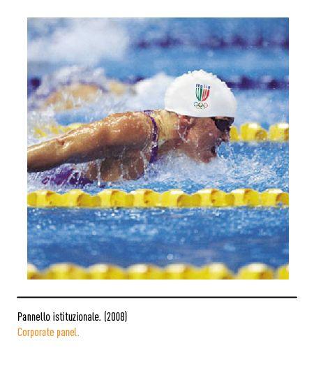 Marchio Coni - Pannello istituzionale 2008