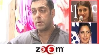 Salman talks about his new store, Kareena to do 4 item songs-Indian Bollywood