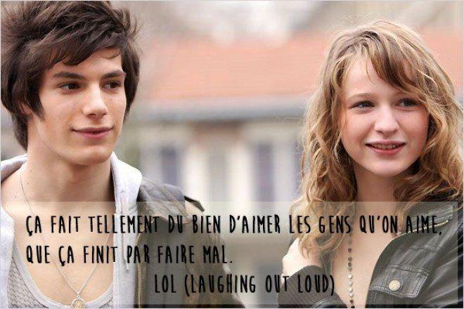 Citation film d'amour, LOL
