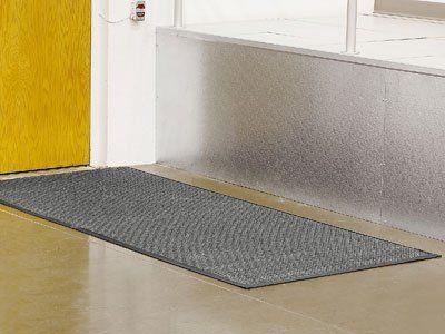 4 x 8' Medium Gray Waterhog Carpet Mat by Waterhog. $177.00. Waterhog - Soak up snow, water and ice quickly. End wet, slippery floors. Solid rubber nubs prevent carpet from crushing. Non-slip rubber backing. Tough polypropylene fiber system. Waterhog mats in stock!
