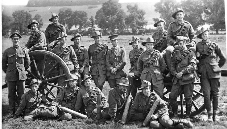 Sharing Australian Soldiers - 1918 at Living Histories