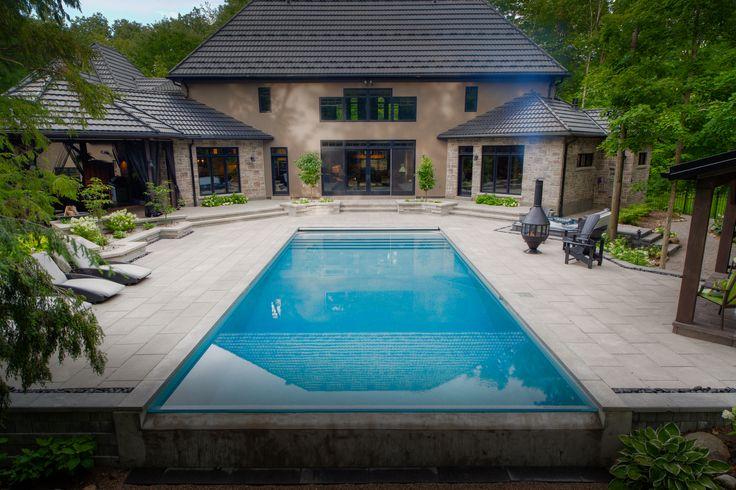 Glass Edge Concrete Pool