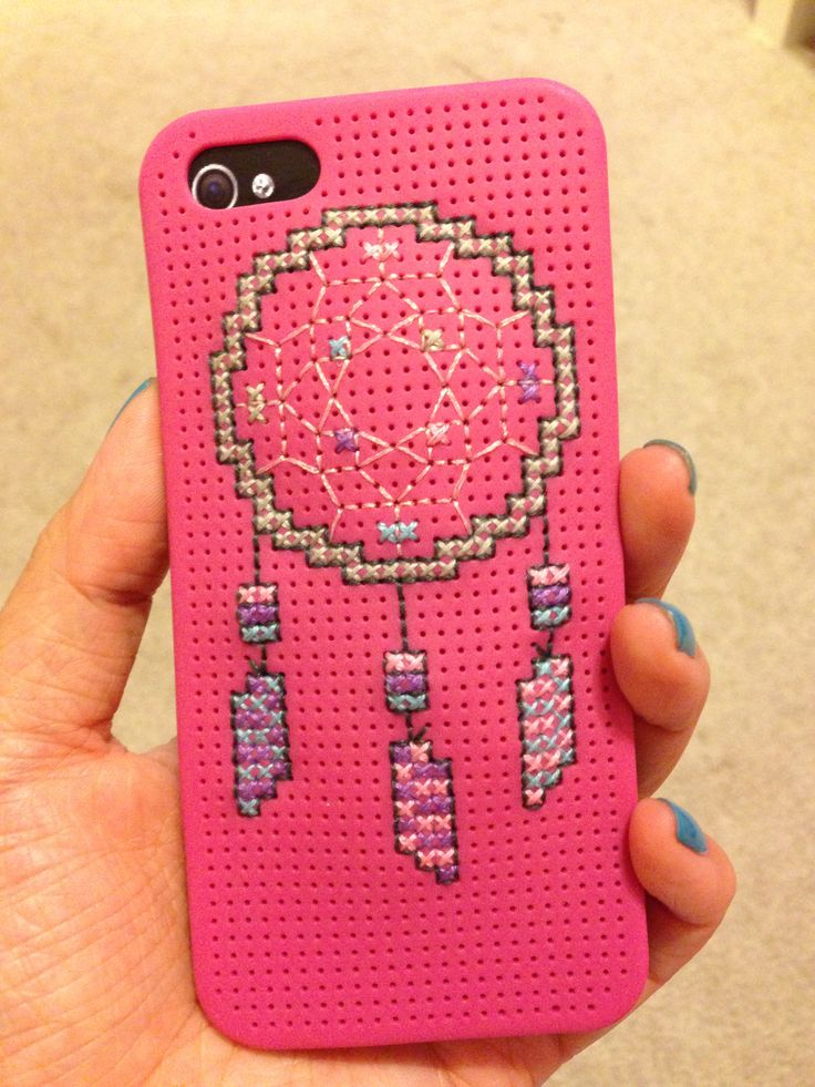 DIY cross stitch iPhone case. Download the hobby lobby app for the 40% off coupon and get the kit for $6. Use the designs that come with it, find one or make your own :)