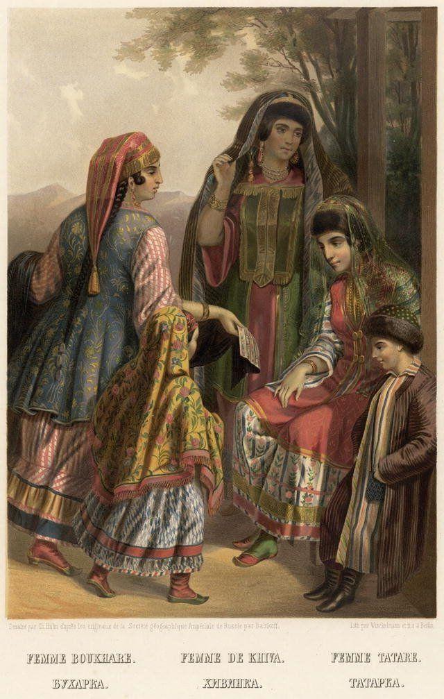 Tatar Women of Bukhara
