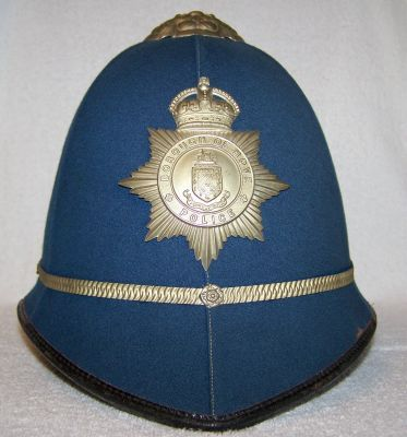 Police helmets in key colour