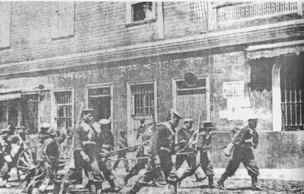 La masacre de la Escuela de Santa María de Iquique - Anarkismo