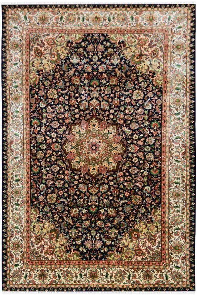 Shop Beautiful Jewel Neel Ardabil Silk Area Rug At Rugs And Beyond In 2020 Rugs Silk Rug Silk Area Rugs