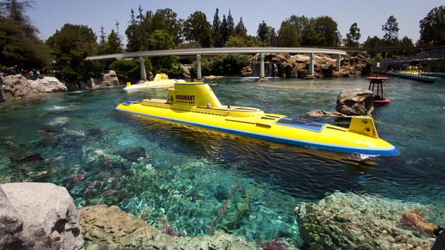 Celebrate adventure, fantasy, the past, the future and the imagination! Look at this Disneyland Resort attraction.