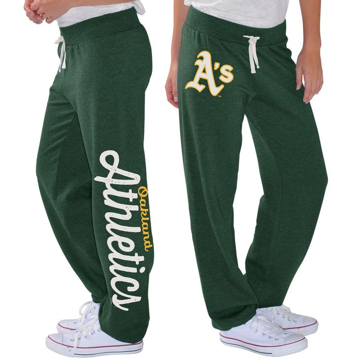 Oakland Athletics G-III 4Her by Carl Banks Women's Scrimmage Pants - Green