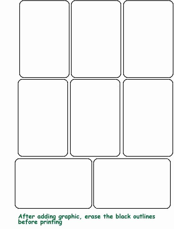 Blank Game Card Template Inspirational Blank Template Hrac Karty Printable Playing Cards Blank Playing Cards Custom Playing Cards