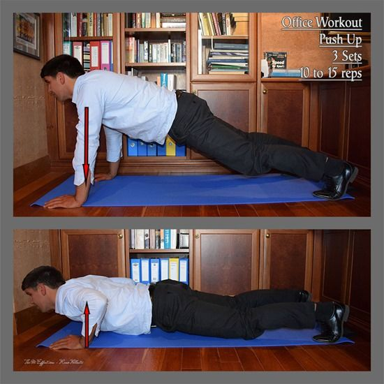 The Workplace Workout - Advanced