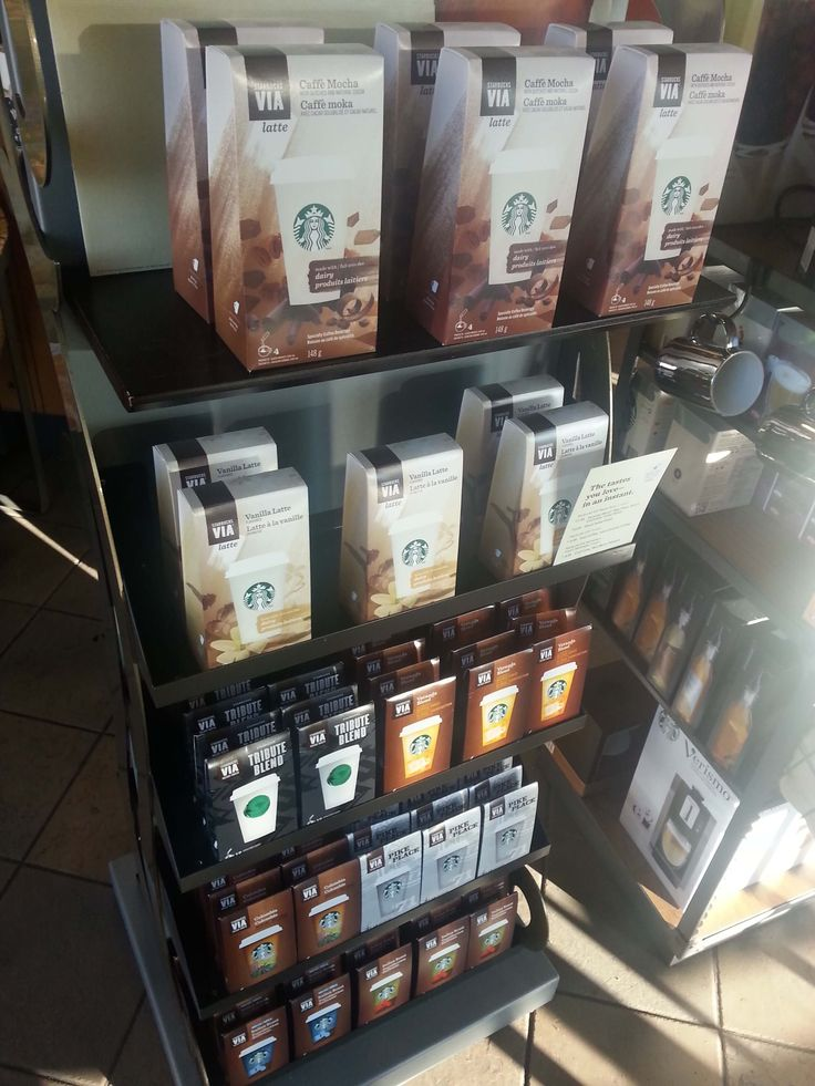 Starbucks Via Coffee is there instant coffee