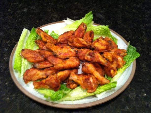 Oven Crisp Chicken Wings. Photo by Buddy's Kitchen