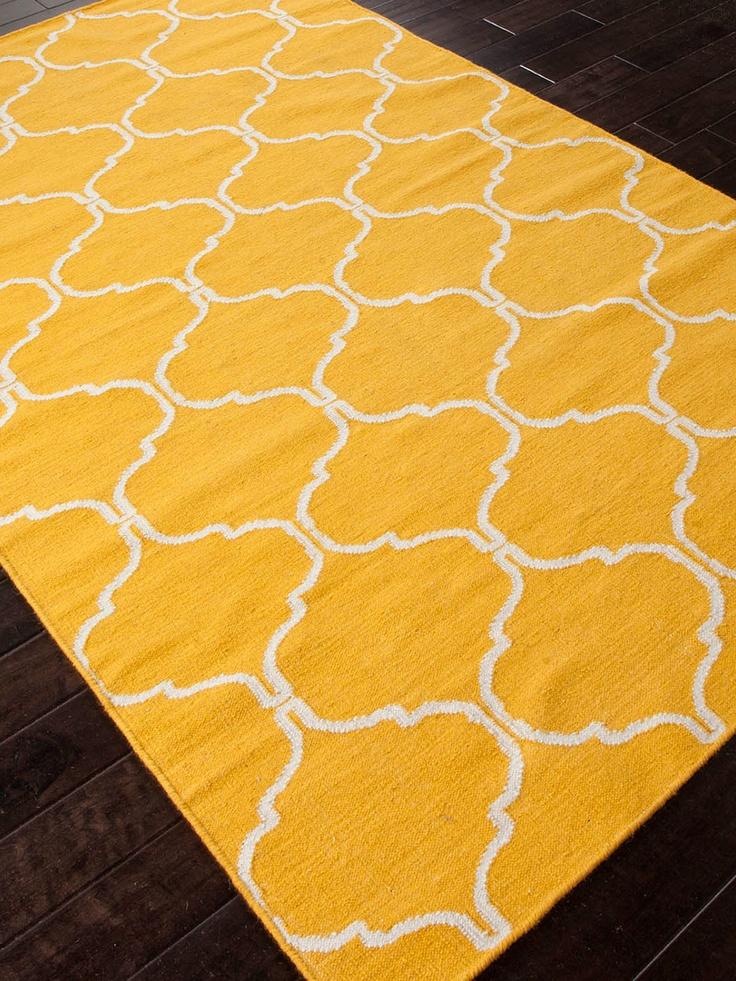 Geometric Handmade Flatweave By Jaipur Rugs ♥ Visit Http://gicor.ca/. Yellow  RugBedroom ...