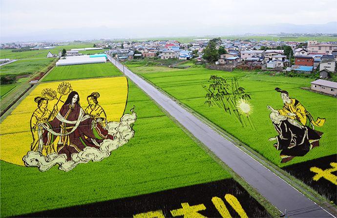 「田んぼアート」による観光地づくり 逆転の発想で「待ち時間」活用 | 広報会議デジタル版