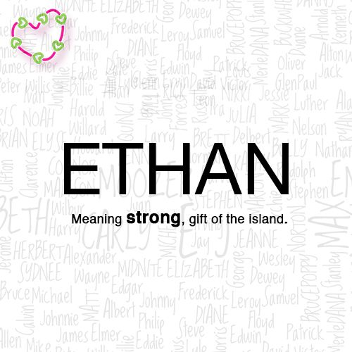 meaning of the name Ethan