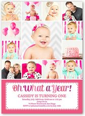 personalized girls first birthday invitations - Google Search