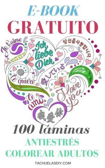 ARTETERAPIA: 100 láminas para colorear GRATIS anti estrés ADULTOS