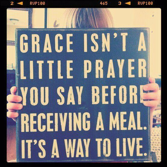 Grace.: Dining Rooms, Prayer, Little Girls, Gift, Remember This, Quotes, Christ, Truths, God Grace