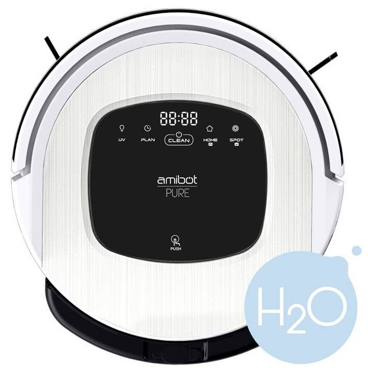 amibot pure h2o a t con u pour aspirer nettoyer et st riliser vos sols en m me temps sa. Black Bedroom Furniture Sets. Home Design Ideas