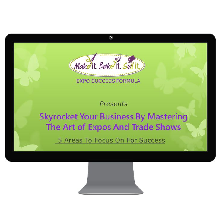 Have you been thinking about exhibiting at an expo, trade show or market?   If so, you must check out my new training video - 5 Key Success Factors For Skyrocketing Your Next Expo, Trade Show or Market.   Even if you're only toying with the idea of exhibiting at a show, make sure you watch this free training now because it's only available for a limited time.  https://melaniesorensen.leadpages.net/expo/