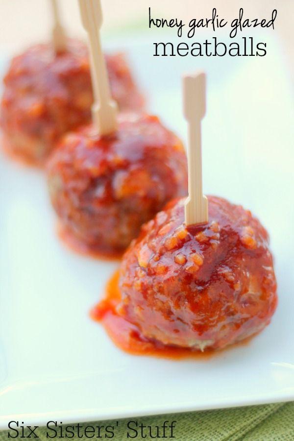 Honey-Garlic-Glazed-Meatballs-Recipe