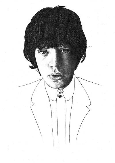 Portrait Illustration by Matt Heath