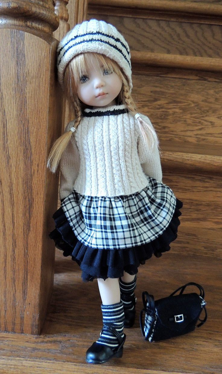 """Chiditta Set for 13"""" Darling Dianna Effner PAL to Miki Wiggs Lolly Lasher BJD   eBay"""