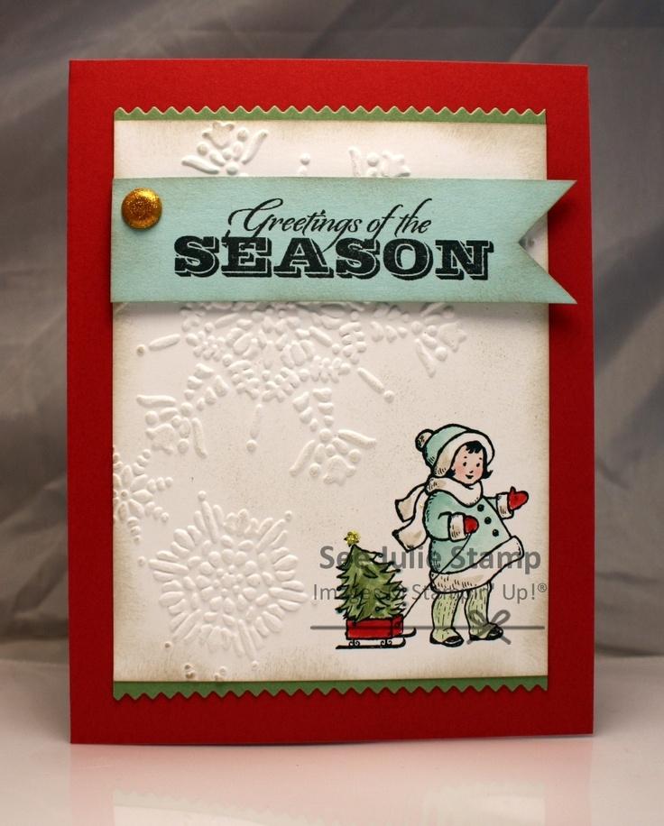 Catalog CASE, Stampin' Up! Greeting Card Kids, See Julie Stamp - Julie Wadlinger