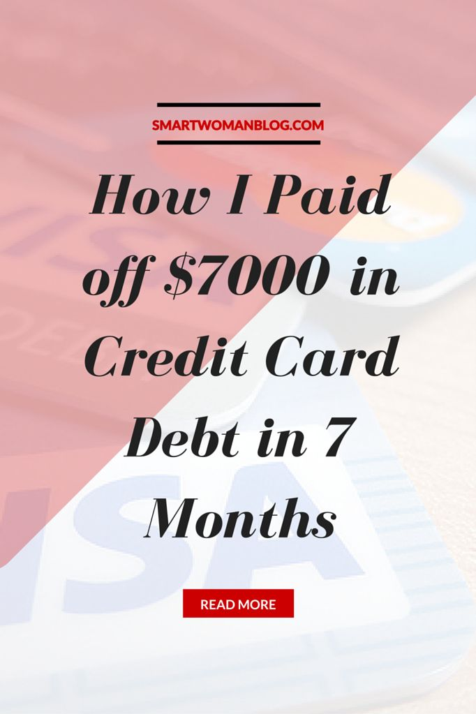 "I paid off my credit card in about 7 months' time - right after graduating university and in the middle of looking for a ""career-job"". // Smart Woman"