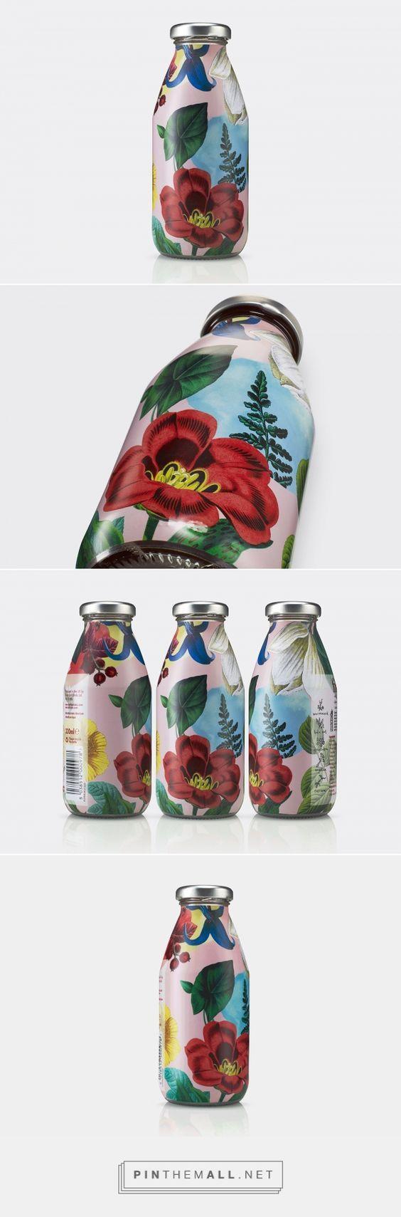 Superfly Botanical Beverage Packaging by B&B Studio