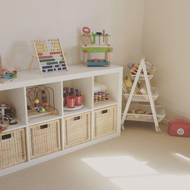 Playroom Baskets Amp Open Shelves Playroom Baby Room