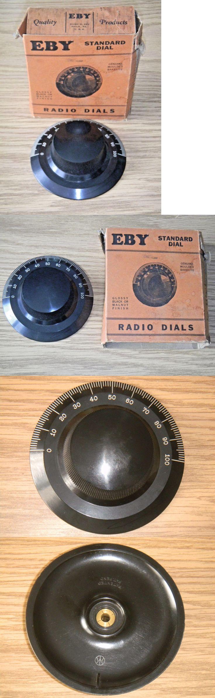 Vintage Radios: Vintage Eby E567 Radio Dial Knob Moulded Bakelite -> BUY IT NOW ONLY: $49.99 on eBay!
