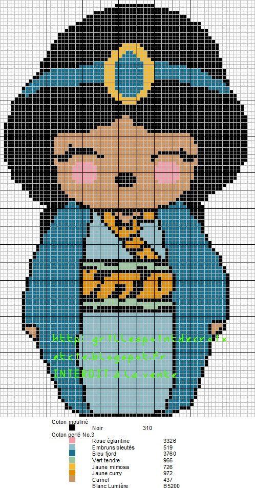 Je vous remets ici en transférant de mon autre blog, mes p'tites grilles des Kokeshi relookées en personnages disney, à découvrir ou à revoir, voici les 28 grilles :