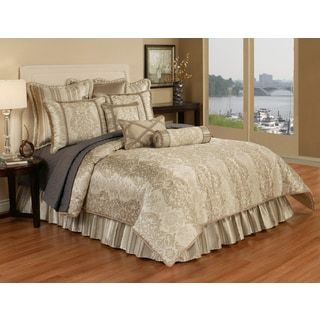 Shop for Austin Horn Classics Hampshire 6-piece Luxury Comforter Set. Get free shipping at Overstock.com - Your Online Fashion Bedding Outlet Store! Get 5% in rewards with Club O! - 17215360