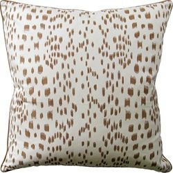Les Touches pillow Brunschwig & Fils in tan. For more designer pillows, visit our New York style showroom in Montreal Qc.  http://www.avenuedesigncanada.com/Furniture-Accessories-Cushions/ItemBrowser.aspx?action=attributes&ItemType=Furniture&offset=0&Category=Accessories&Type=Cushions