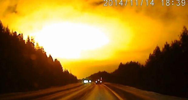 Chelyabinsk meteor #2? Massive flash over Russia's Urals stuns locals & scientists | Alien UFO Sightings