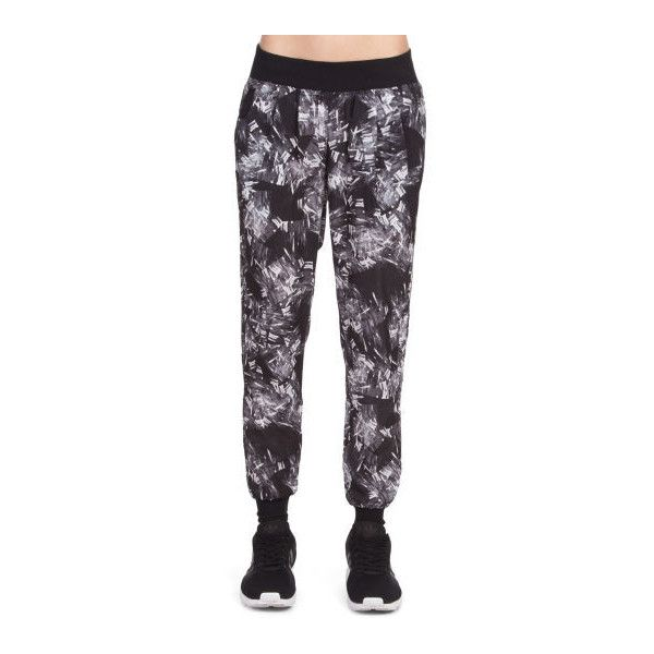 Calvin Klein Performance Women's Printed Soft Jogger (50 AUD) ❤ liked on Polyvore featuring activewear, activewear pants, calvin klein activewear, calvin klein and calvin klein sportswear