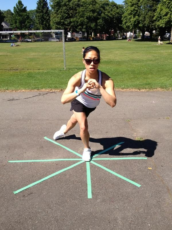 Favourite Balance Exercise: The Star Balance   Jessie Wong   Vancouver Physiotherapy