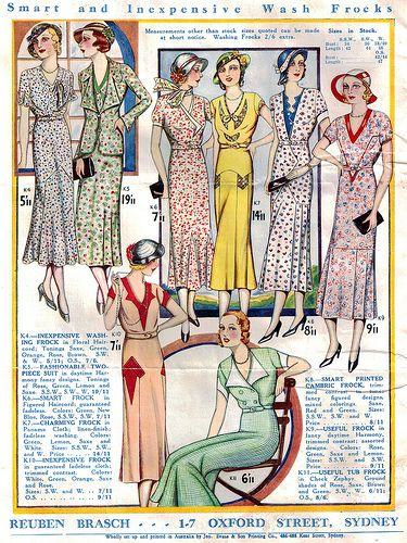 Brasch's Fashion Revue Spring & Summer 1932-33