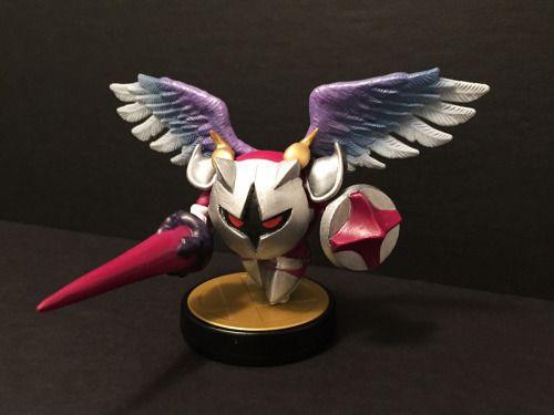 Custom Galacta Knight amiibo - View more at http://buyamiibo.com/custom-amiibo-gallery/