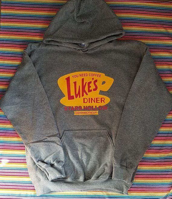 Luke's Diner Coffee Hoodie