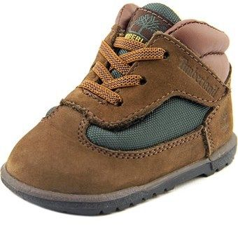 Timberland Field Boot Crib Bootie Infant Round Toe Leather Brown Boot.